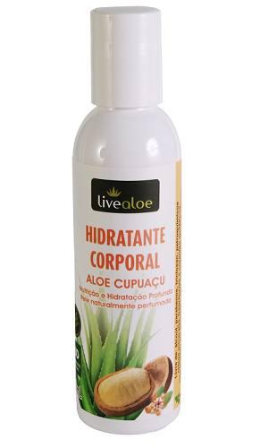 Hidratante Corporal Aloe Cupuaçu 200 ml - Nutrição e Hidratação Profunda