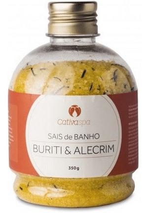 Sais de Banho Buriti & Alecrim 350g