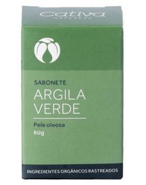 Sabonete Argila Verde - Pele oleosa 60g