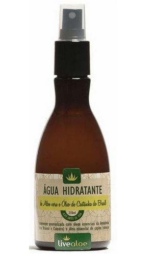 Água Hidratante LiveAloe 210ml