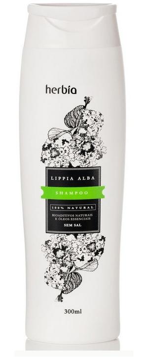 Shampoo Orgânico Herbia Lippia Alba 300 ml