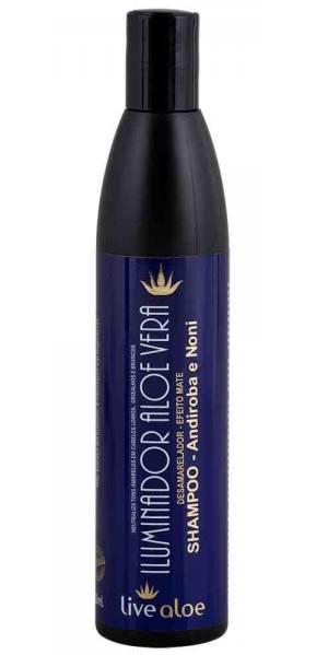 Shampoo Iluminador, Desamarelador - Neutralizante Para Loiros, brancos e grisalhos