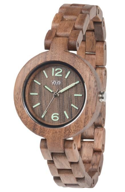 Relógio de Madeira - IRIS NUT