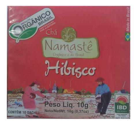 Chá Orgânico de Hibisco 10g