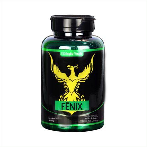 Detox - Fênix - 400mg - 60 cápsulas