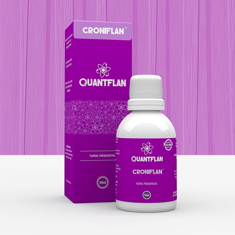 Essência Vibracional Floral CRONIFLAN - 50ml Linha Quantflan