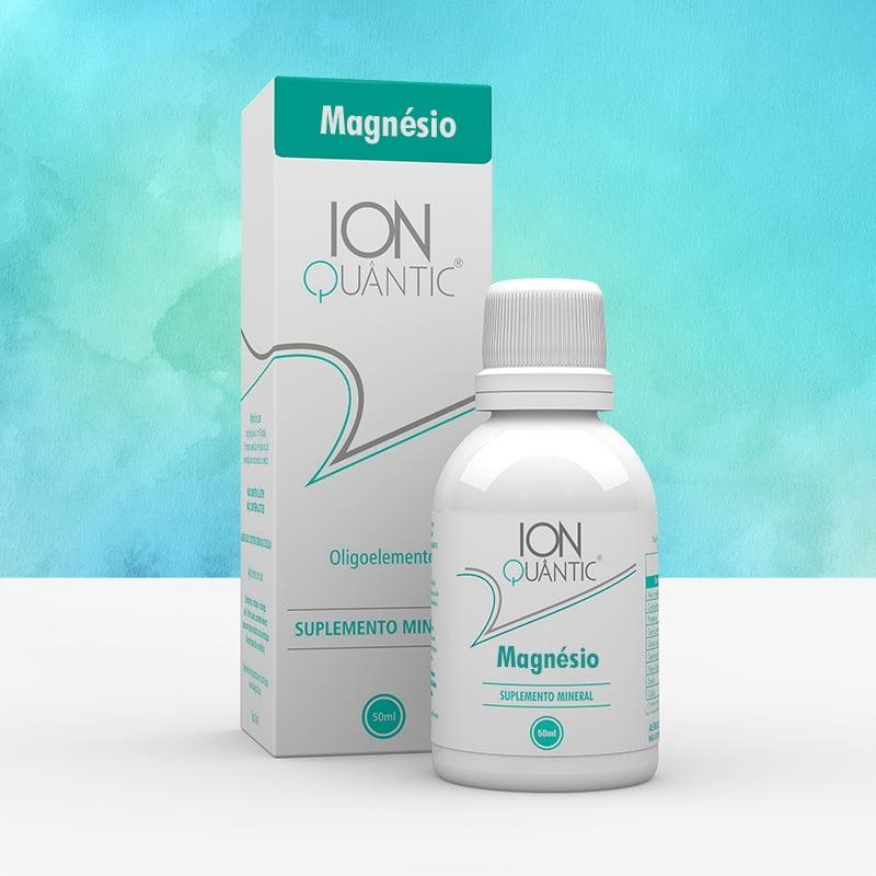 Suplemento Mineral IonQuantic Oligoelemento Magnésio 50ml