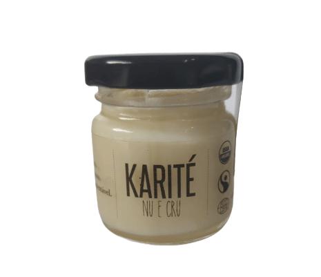 Manteiga de Karité Nilotica Orgânica Afrikkana Karité Nu e Cru – 30g