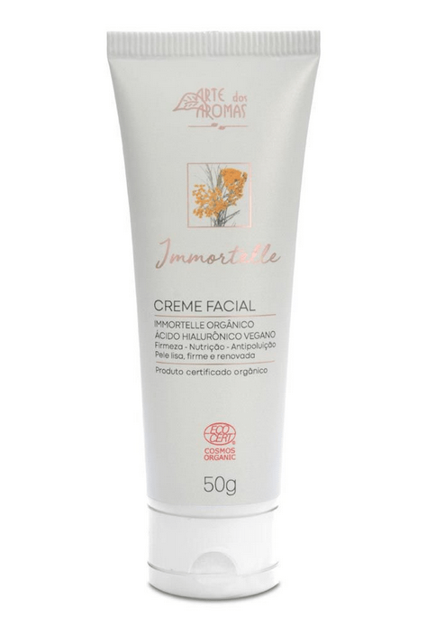 Creme Facial Orgânico Immortelle 50g
