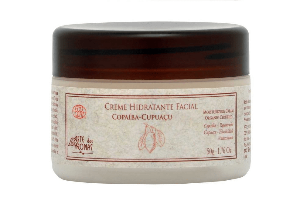 Creme Hidratante Facial Certificado ECOCERT 50g