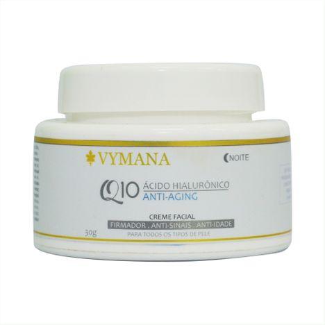 Hidratante Creme Facial Q10 e Ácido Hialurônico 30g