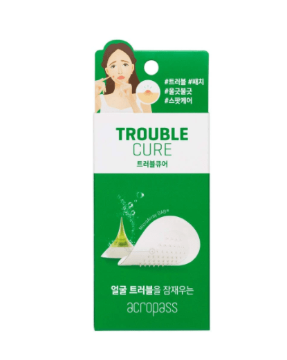 Trouble Cure - Adesivo Microagulhas Dissolvíveis – Acne