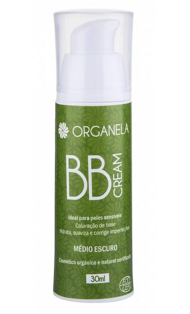 BB Cream - Médio Escuro - Orgânico, Natural e Vegan