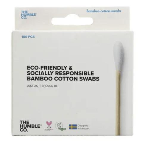 Haste Flexível em Algodão Orgânico e Bambu Biodegradável 100un