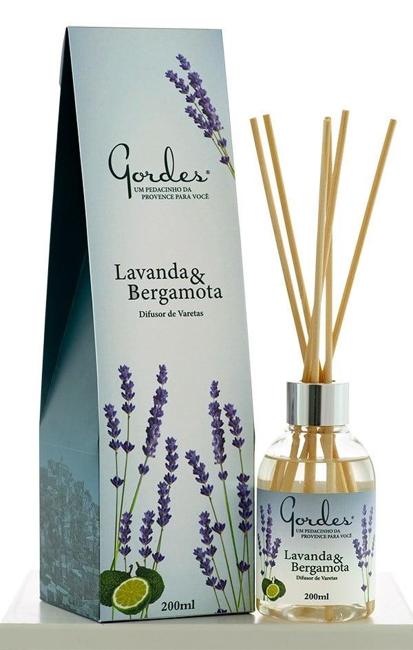 Aroma de Ambientes Gordes Lavanda e Bergamota Difusor 200 ml