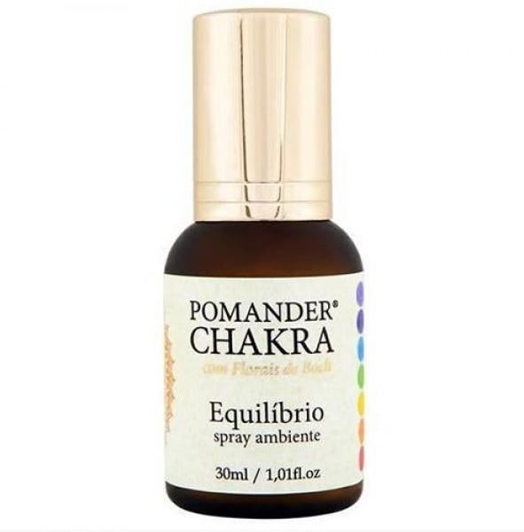 Aromatizador de Ambiente Terapeutico Pomander Chakra Equilíbrio Spray 30ml