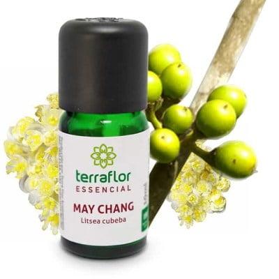 Óleo Essencial Natural Terraflor de May Chang 10 ml