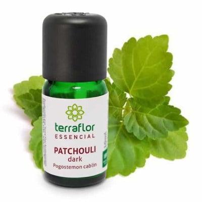 Óleo Essencial Natural Terraflor de Patchouli Dark 10 ml