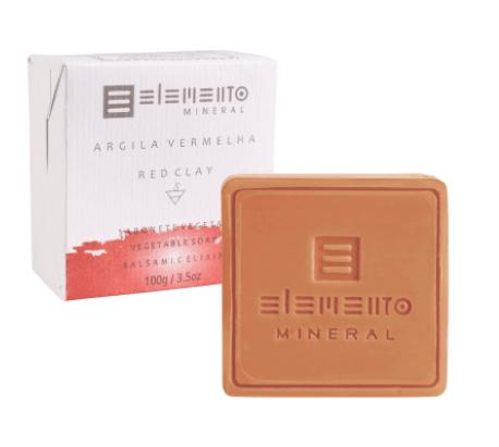 Sabonete Argila Vermelha 100g