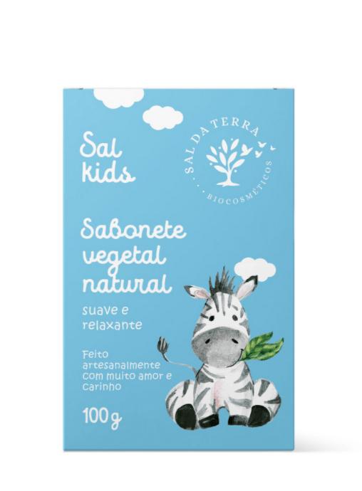 Sabonete Infantil Camomila e Lavanda 100g