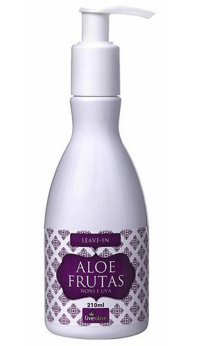 Leave-In Aloe Frutas 210 ml - Noni e Uva