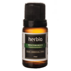 Óleo Essencial de Wintergreen 10ml Herbia