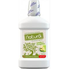 Enxaguante Bucal Natural Limão e Gengibre 250ml