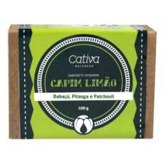 Sabonete de Capim-Limão 100g - Babaçú, Pitanga e Patchouli