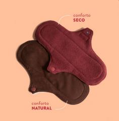 Kit Absorventes Prático Conforto Natural