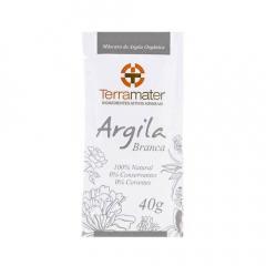 Argila Branca 100% Natural - Equilíbrio, Hidratante, Clareadora 40g