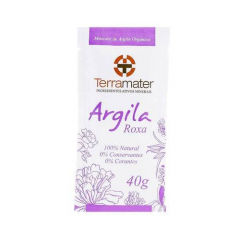 Argila Roxa 100% Natural - Rejuvenescimento 40g