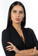 Maxi Anel Retãngulo em Endocarpo de Coco Piaçabeira com Madeira Patí