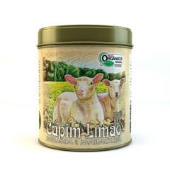 Chá Misto Orgânico Capim Limão, Melissa e Maracujá - Lata 100g - Tribal Brasil