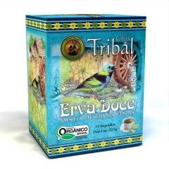 Chá Misto Orgânico Erva Doce com Ervas Finas - Caixa 22,5g - Tribal Brasil