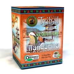 Chá Misto Orgânico Mandarina com Especiarias - Caixa 27g - Tribal Brasil