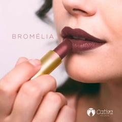 Batom Orgânico Natural Vegano Cor Bromelia - Cativa
