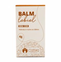 Balm Labial Orgânico Natural Vegano 4g
