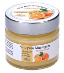 Vela para Massagem Revitalizante Grapefruit, Laranja e Lavanda