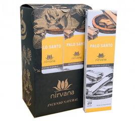 Incenso Natural Nirvana Palo Santo 9 varetas