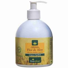 Sabonete Líquido Flor de Aloe pH Fisiológico 480ml