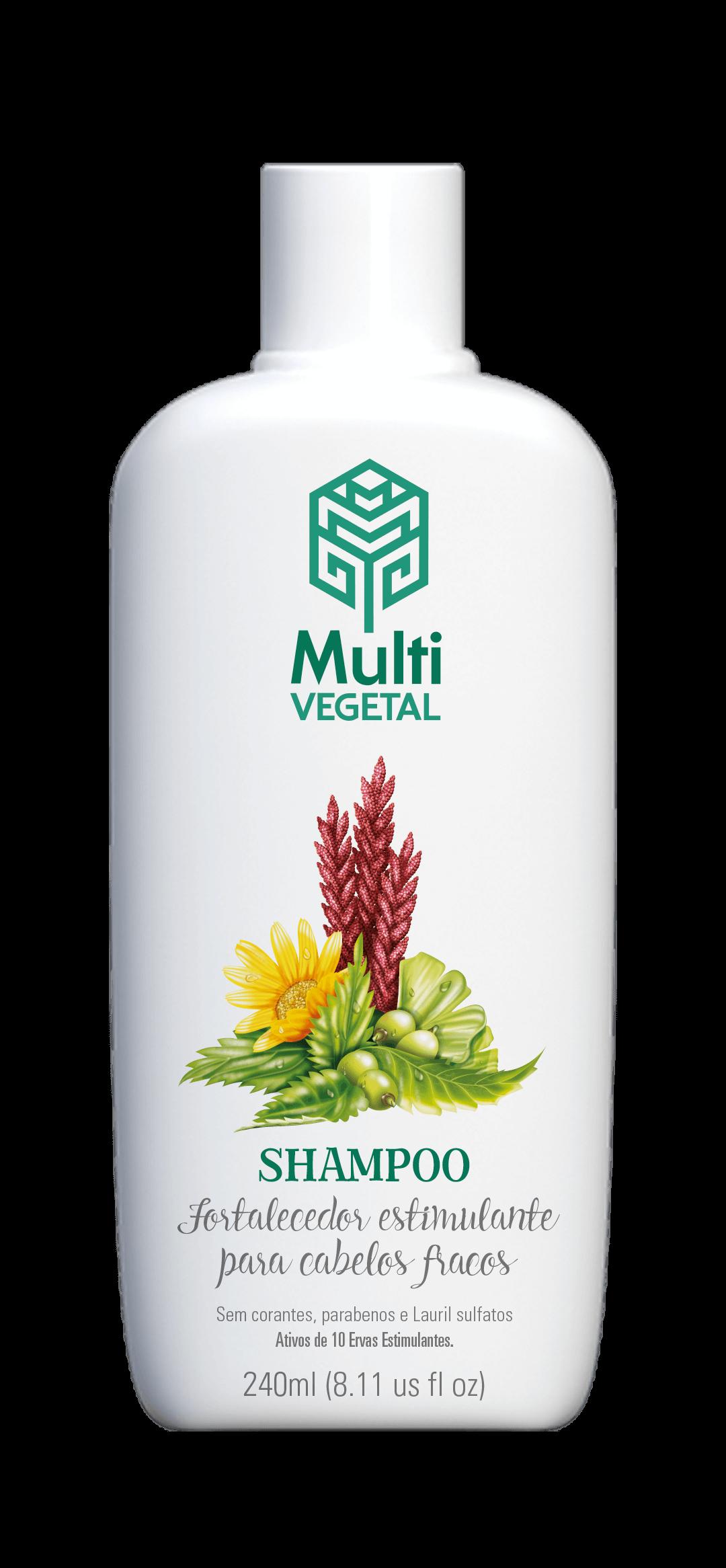 Shampoo de Ervas Estimulantes Fortalecimento Capilar